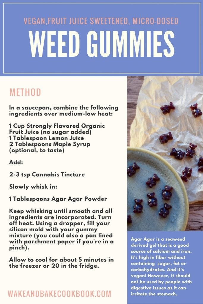 vegan cannabis gummies recipe